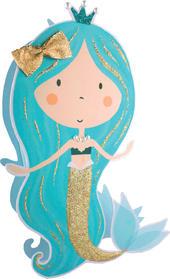 Mermaid Happy Birthday 3D Paper Dazzle Birthday Greeting Card