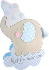 Birth New Baby Boy 3D Paper Dazzle Congratulations Greeting Card
