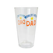 World's Best Dad Pint Glass in Gift Box