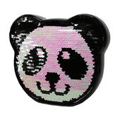 Sequin Panda Ceramic Money Box With Stopper