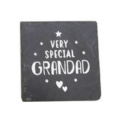 Very Special Grandad Slate Coaster