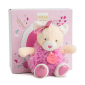 Doudou Kitten Super Soft Plush Toy In Solid Gift Box
