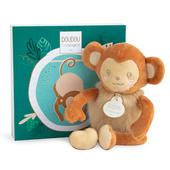 Doudou Monkey Super Soft Plush Toy In Solid Gift Box