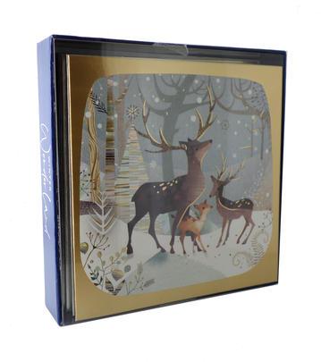 Box of 8 Winter Wonderland Christmas Cards