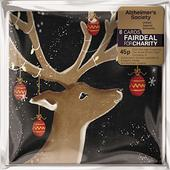 Pack of 8 Reindeer Tree Alzheimer's Society Charity Christmas Cards