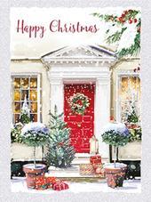 Box of 8 Happy Christmas Mini Christmas Cards