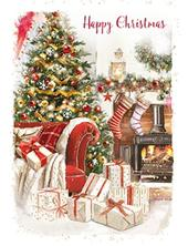 Box of 8 Christmas Presents Mini Christmas Cards