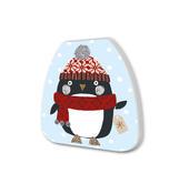 Penguin Festive Shaped Christmas Notepad