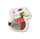Christmas Quacker Festive Shaped Christmas Notepad