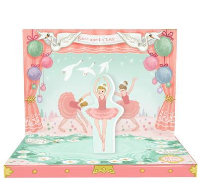 Ballerina Dream Music Box Card Novelty Dancing Musical Greeting Card