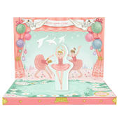 Ballerina Dream Music Box Card Novelty Dancing Musical Greeting Card