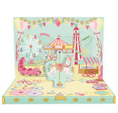 Fun At The Fair Music Box Card Novelty Dancing Musical Greeting Card