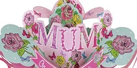 Make The Surprise Truly Special With One Of Many Keepsake Mother's Day Pop Up Cards