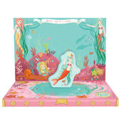 Mermaid Adventures Music Box Card Novelty Dancing Musical Greeting Card