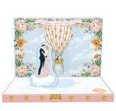 Love's Great Adventure Music Box Card Novelty Dancing Musical Greeting Card