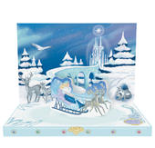 The Snow Queen Music Box Card Novelty Dancing Musical Christmas Card