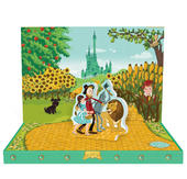 An Adventure In Oz Music Box Card Novelty Dancing Musical Greeting Card