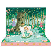 Fairyland Dream Music Box Card Novelty Dancing Musical Greeting Card