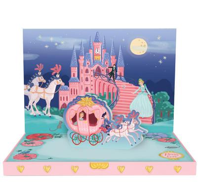 Cinderella's Dream Music Box Card Novelty Dancing Musical Greeting Card