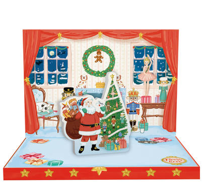 Have A Magical Christmas Music Box Card Novelty Dancing Musical Christmas Card
