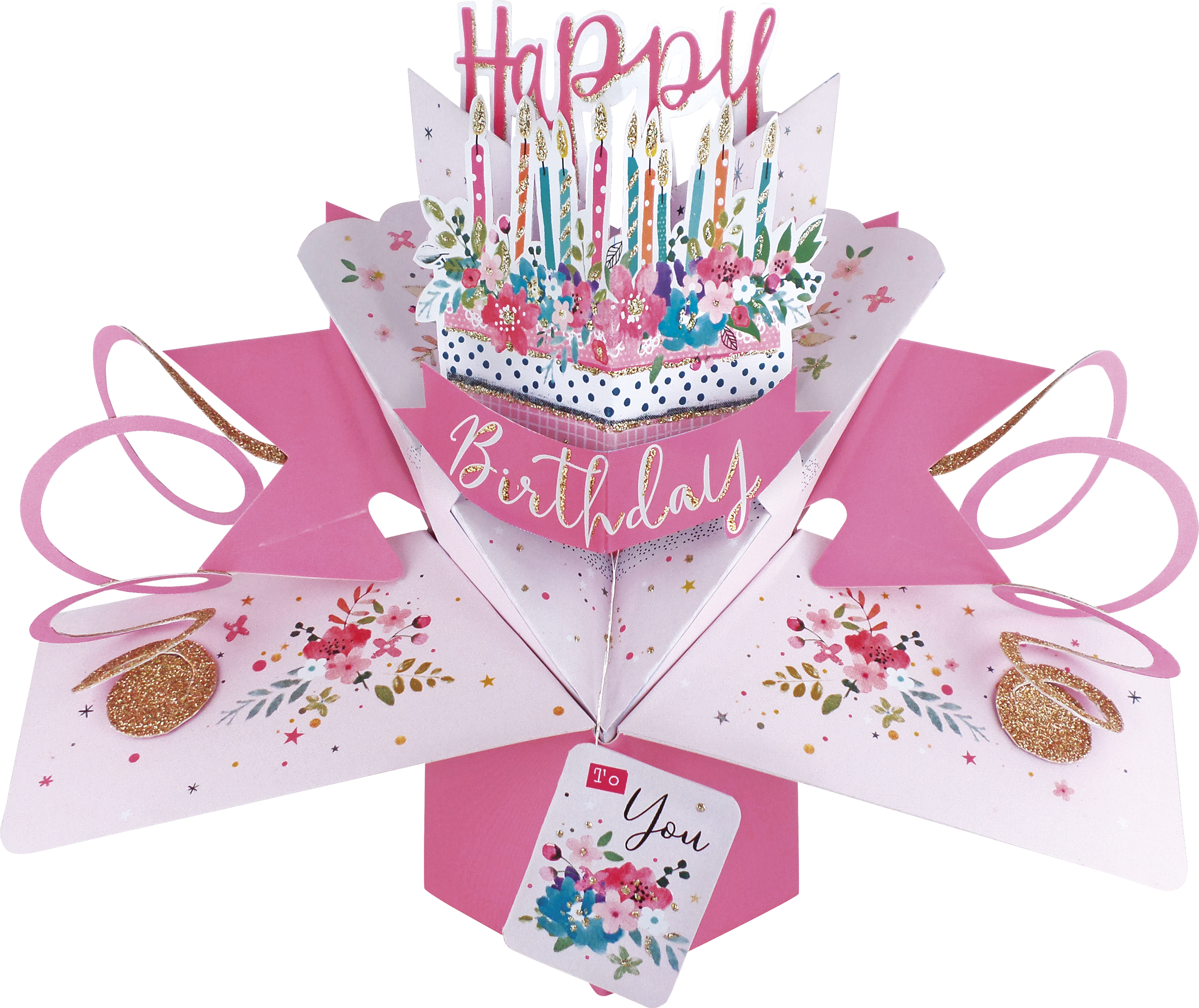 Superb Happy Birthday Cake Pop Up Greeting Card Cards Funny Birthday Cards Online Eattedamsfinfo