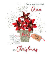 Gran  Irresistible Christmas Greeting Card