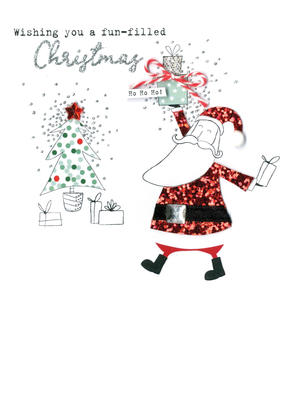 Father Christmas  Irresistible Christmas Greeting Card