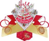 Reindeer Pop-Up Christmas Greeting Card