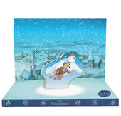 The Snowman Music Box Card Novelty Dancing Musical Christmas Card