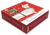 Box of 12 Assorted Christmas Cards In Dog Designs
