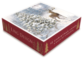 Box of 12 Assorted Christmas Cards In Deer Designs