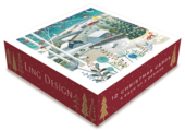 Box of 12 Assorted Christmas Cards In Landscape Designs