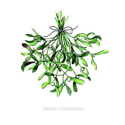 Pack of 8 Mistletoe Kisses RSPCA Charity Christmas Cards