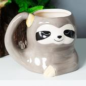 Animal Friends Ceramic Sloth Mug