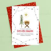 Tiny Little Human Christmas Card Deck The Halls Range