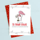 From Our Home To Your Home Christmas Card Deck The Halls Range