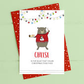 Cheese Is The Glue Christmas Card Deck The Halls Range