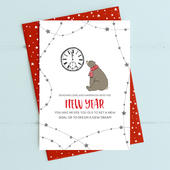 Into The New Year Christmas Card Deck The Halls Range