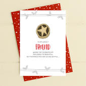 To My Lovely Friend Christmas Card Deck The Halls Range