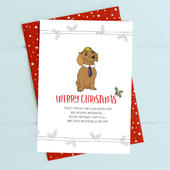 Trump Merry Christmas Card Deck The Halls Range