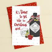 The Christmas Spirit Christmas Card Gin-gle Bells Collection