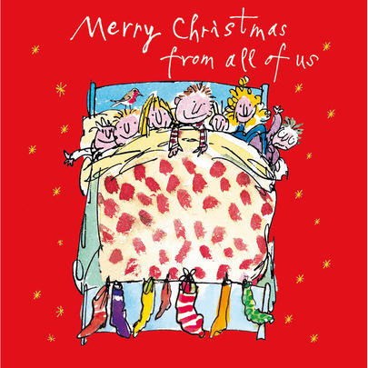 From All Of Us Quentin Blake Christmas Card