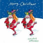 Merry Christmas Santa Quentin Blake Christmas Card