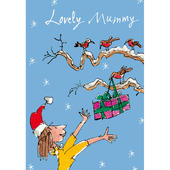 Lovely Mummy Quentin Blake Christmas Card