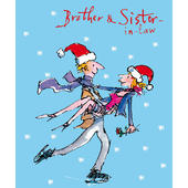 Brother & Sister-In-Law Quentin Blake Christmas Card