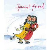 Special Friend Quentin Blake Christmas Card