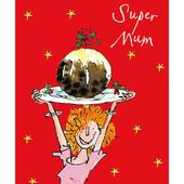 Super Mum Quentin Blake Christmas Card