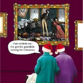 Grandkids Coming For Christmas Irene & Gladys Christmas Card