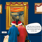 Like Me Every Christmas Irene & Gladys Christmas Card