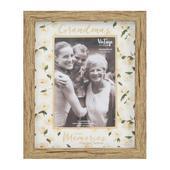 Vintage Boutique Grandmas Memories Wood Effect Photo Frame